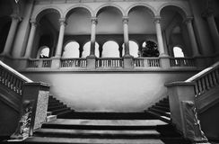 Classical architectural structure Royalty Free Stock Photos