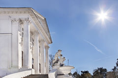 Classical architecture. Royalty Free Stock Photography