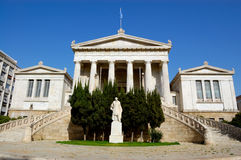 Classical architecture, Athens, Greece Royalty Free Stock Photography