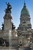 Classical architecture in Buenos Aires Royalty Free Stock Photos