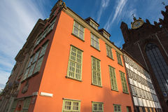 Classical architecture in old town of Gdansk Stock Images