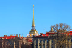 Classical architecture of St. Petersburg. Russia. Royalty Free Stock Photography