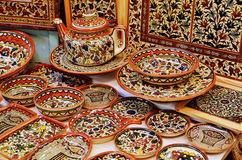 Classical armenian ceramics Royalty Free Stock Photography