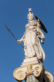 Classical Athena statue. Athens, greece Royalty Free Stock Image