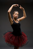 Classical Ballerina. Studio picture from a classical ballerina Royalty Free Stock Photos