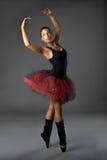 Classical Ballerina. Studio picture from a classical ballerina stock photo