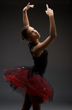 Classical Ballerina. Studio picture from a classical ballerina stock images