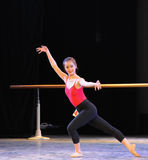 Classical ballet basic skills-Basic dance training course Stock Image