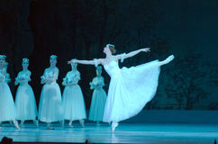 Classical ballet Giselle Royalty Free Stock Images