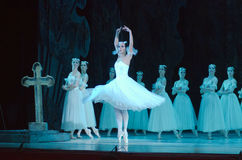 Classical ballet Giselle Stock Photos