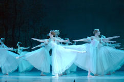 Classical ballet Giselle Royalty Free Stock Photo