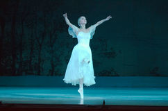 Classical ballet Giselle Stock Images