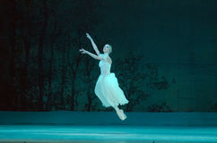 Classical ballet Giselle Royalty Free Stock Photography