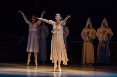 Classical ballet  Romeo and Juliet. Royalty Free Stock Photos