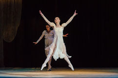 Classical ballet  Romeo and Juliet. Royalty Free Stock Image