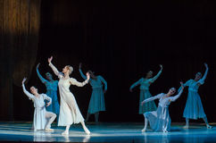 Classical ballet  Romeo and Juliet. Stock Images