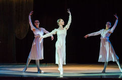 Classical ballet  Romeo and Juliet. Stock Photo