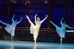 Classical ballet  Romeo and Juliet. Stock Image