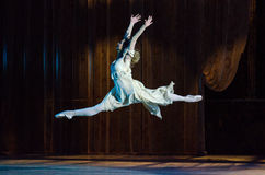 Classical ballet  Romeo and Juliet. Stock Photos