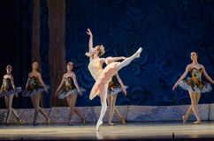 Classical ballet Sleeping beauty Royalty Free Stock Photos
