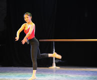 Classical ballet training-Basic dance training course Stock Images