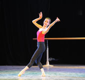Classical ballet training-Basic dance training course Royalty Free Stock Photos