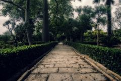 Classical Baroque Garden Royalty Free Stock Images