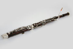 Classical bassoon Stock Image
