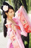 Classical beauty in China. Royalty Free Stock Photos