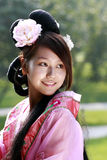 Classical beauty in China. Stock Photo