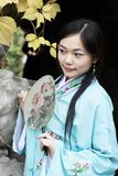 Classical beauty in China. stock images