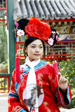 Classical Beauty In China. Royalty Free Stock Photography