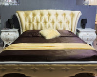 Classical bed Royalty Free Stock Photos