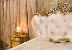 Classical bed Stock Photo