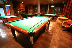 Classical billiards Royalty Free Stock Photo
