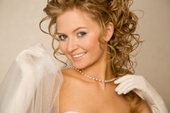 Classical bride Royalty Free Stock Images