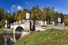 Classical bridge close up Royalty Free Stock Images