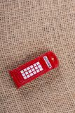 Classical British style Red phone booth. Of London Stock Photo