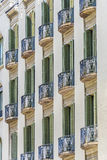 Classical building in Barcelona Stock Photography