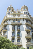 Classical building in Barcelona Stock Image