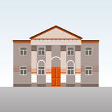 Classical building with columns Stock Images
