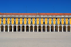 Classical building facade in Lisbon, Portugal Royalty Free Stock Image
