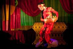 Classical burmese dance Royalty Free Stock Photos