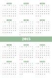 Classical calendar. Royalty Free Stock Photos