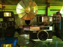 Classical camera Stock Image