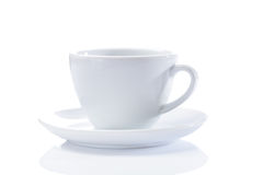 Classical cappuchino cup  Royalty Free Stock Image