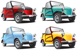 Vintage Soviet microcar Stock Photography