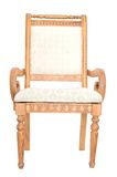 Classical carved wooden chair Royalty Free Stock Image