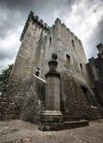 Classical castle Brolio in Italy Stock Photos