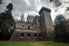 Classical castle Brolio in Italy Stock Photography